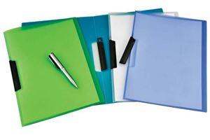 Picture of Bantex No Punch Report Folder Swing Lock Folder Green