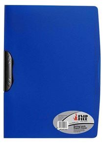 Picture of Flip File Swing Lock Report Cover Blue