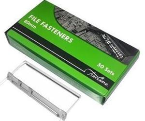 Picture of Treeline File Fasteners 80mm Stainless Steel 50's