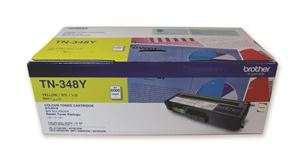 Picture of Brother TN-348Y Yellow Laser Toner