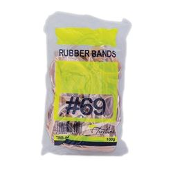 Picture of No. 69 Rubber Bands - 100gm 150 x 6mm