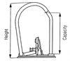 Picture of Bantex Lever Arch File 70mm Polypropylene
