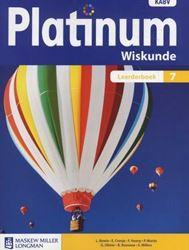 Picture of Platinum Wiskunde Graad 7 Leerderboek