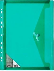 Picture of Meeco A4 Fileable Carry Folder Green