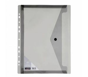Picture of Meeco A4 Fileable Carry Folder Black