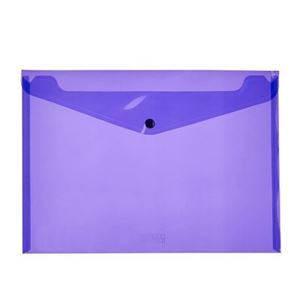 Picture of Meeco A4 Carry Folder Violet
