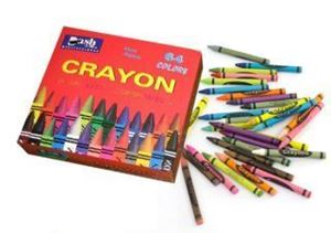Picture of Wax Crayons - Box of 64
