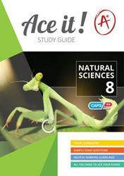 Picture of Ace It! Natural Sciences Study Guide Grade 8