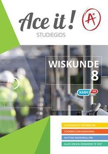 Picture of Ace It! Wiskunde Studiegids Graad 8