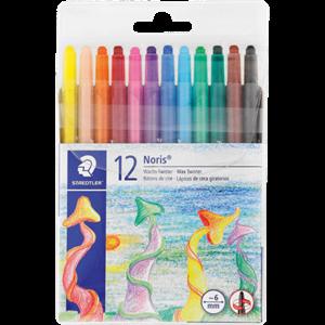 Picture of Staedtler Retractable Wax Crayons 12's