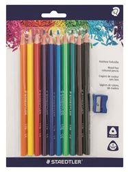 Picture of Staedtler Noris Club Beginner Colour Pencils Jumbo 10's
