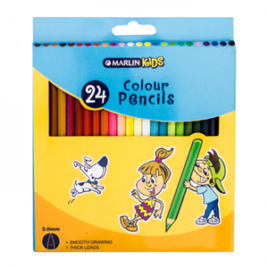 Picture of Marlin Kids Colour Pencils 24's