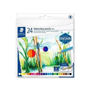 Picture of Staedtler Watercolour colour pencils 24's