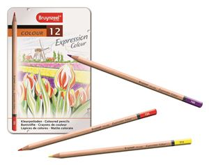 Picture of Bruynzeel Expression Colour Pencils 12's