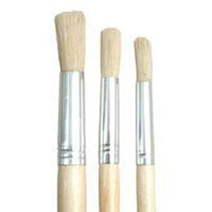 Picture of Trefoil Artist Round Short Handle Paint Brush