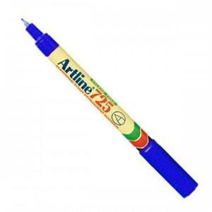 Picture of Artline EK 725 Extra Fine Permanent Marker Blue