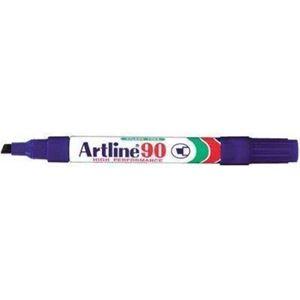 Picture of Artline EK 90 Chisel Point Permanent Marker Violet
