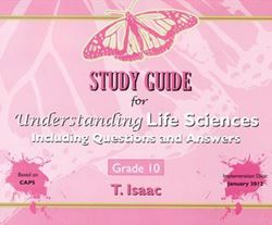 Picture of Study Guide for Understanding Life Sciences Grade 10