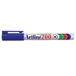 Picture of Artline EK 700 Fine Point Permanent Marker Blue