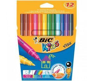 Picture of BIC Kids Visa Fibre Tip Pens