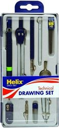 Picture of Helix Technical Drawing Set 9-Piece (Boxed)