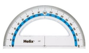 Picture of Helix Protractor 15cm 180 Degree