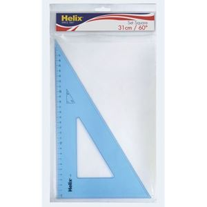Picture of Helix Set Square 31cm 60 Degree