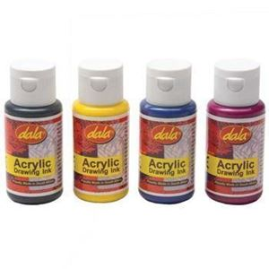 Picture of Dala Acrylic Drawing Ink 50ml Sepia