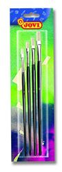 Picture of Jovi Flat Paint Brushes Assorted Sizes Pack of 4 Carded