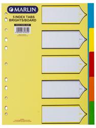 Picture of Marlin A4 Bight Board File Dividers