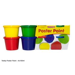 Picture of Teddy Poster Paint Kit 4 x 100ml