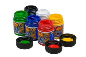 Picture of Fabric Paint Standard 6 x 50ml kit