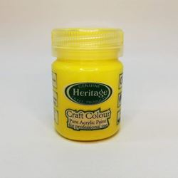 Picture of Heritage Craft Paint Yellow