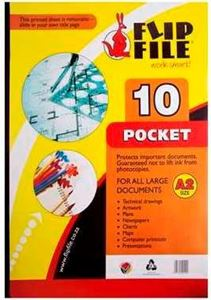 Picture of A2 Flip File 10 Pockets