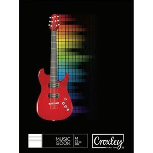 Picture of Croxley A4 32 Page 12 Stave Music Book
