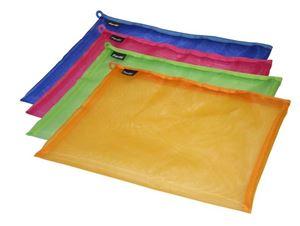 Picture of Bantex A4 Mesh Zippa Bag