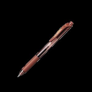 Picture of Pentel BL107 Energel X Retractable Gel Roller Pen 0.7mm Brown