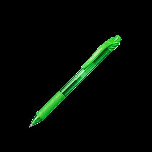 Picture of Pentel BL107 Energel X Retractable Gel Roller Pen 0.7mm Lime Green