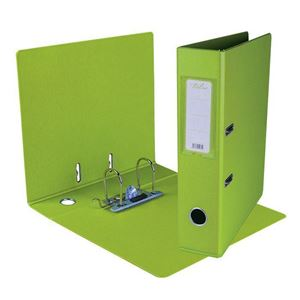 Picture of Treeline A4 Lever Arch File PVC 70mm Lime Green