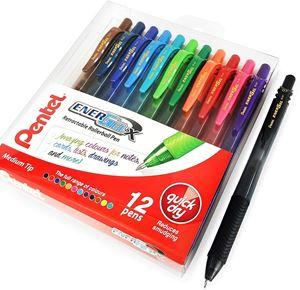 Picture of Pentel BL107 Energel X Retractable Gel Roller Pen 0.7mm Wallet of 12