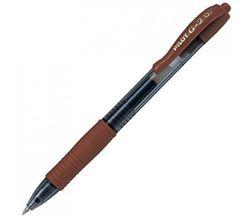 Picture of Pilot BL-G2 7 Retractable Roller Ball Gel Ink Pen Caramel