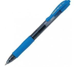 Picture of Pilot BL-G2 7 Retractable Roller Ball Gel Ink Pen Sky Blue