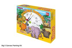 Picture of Dala Canvas Kits Africa Big 5 Canvas Kit