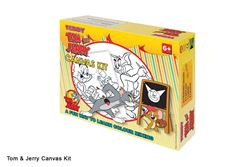 Picture of Dala Licenced Canvas Kit Tom & Jerry