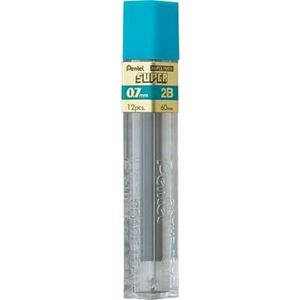 Picture of Pentel Hi-Polymer Refill Leads 0.7mm 12 Per Tube 2B