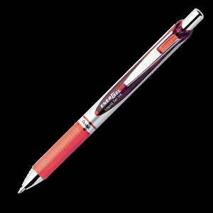 Picture of Pentel BL77 Energel 0.7mm Retractable Gel Rollerball Pen Red