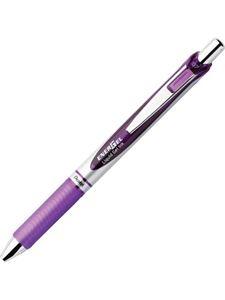 Picture of Pentel BL77 Energel 0.7mm Retractable Gel Rollerball Pen Violet