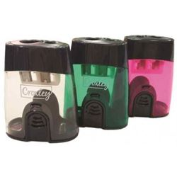 Picture of Croxley Double Barrel Sharpener Pink