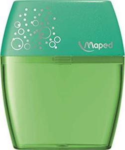 Picture of Maped Shaker 2 Hole Plastic Barrel Sharpener Green