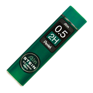Picture of Pentel Ain Stein 0.5mm Refill Lead 40 per Tube 2H